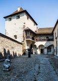 Zvolen, Eslovaquia 6 DE AGOSTO DE 2015 Zamok de Zvolensky del castillo de Zvolen imagen de archivo