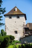 Zvolen, Eslovaquia 6 DE AGOSTO DE 2015 Zamok de Zvolensky del castillo de Zvolen imágenes de archivo libres de regalías