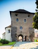 Zvolen, Eslovaquia 6 DE AGOSTO DE 2015 Zamok de Zvolensky del castillo de Zvolen imagenes de archivo