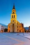 Zvolen, Slovakia. Church in the main square of Zvolen, Slovakia Stock Photography