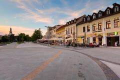 Zvolen, Slovakia. Main square in the town of Zvolen, Slovakia Royalty Free Stock Photography