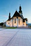 Zvolen, Slovakia. Main square in the town of Zvolen, Slovakia Royalty Free Stock Photo