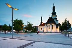 Zvolen, Slovakia. Main square in the town of Zvolen, Slovakia Stock Photos