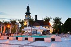 Zvolen, Slovakia. Main square in the town of Zvolen, Slovakia Stock Photography