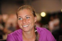 Zvonareva Vera at Rogers Cup 2009 (4) Royalty Free Stock Image