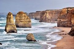 Zwölf Apostel in Australien Lizenzfreies Stockfoto