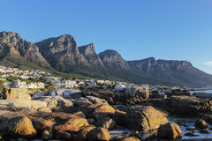 Zwölf Apostel-Berg in Cape Town, Südafrika stockfotografie