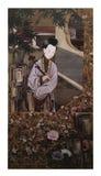 Zwölf Dame Portraits, berühmte chinesische Malerei Lizenzfreie Stockfotografie