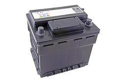 Zwölf-Volt-Batterie Stockfoto