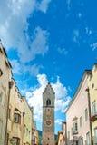 Vipteno / Sterzing, Alto Adige, Italy. Zwölferturm on main street in Vipteno / Sterzing, Alto Adige, Italy royalty free stock images