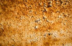 Zwaar geoxydeerd metaal stock fotografie
