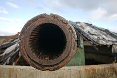 Zwaar kanon Stock Fotografie