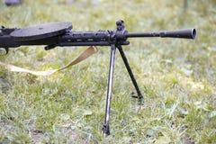 Zwaar machinegeweer Stock Foto's