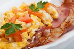 Zwaar ontbijt Royalty-vrije Stock Afbeeldingen