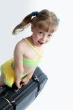 Zwaar valise Royalty-vrije Stock Afbeeldingen