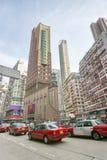 Zwaar verkeer in Hong Kong Stock Afbeelding