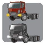 Zwaar vrachtwagenvoertuig Stock Afbeelding