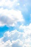 Zwaar wolkenkatoen Royalty-vrije Stock Afbeeldingen