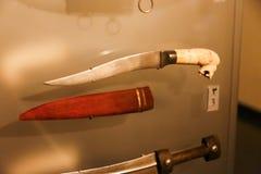 Zwaarden oude antiquiteiten - het Museum van Sharjah Royalty-vrije Stock Foto