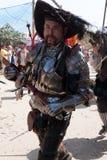 Zwaardvechter van de renaissance de Eerlijke parade Royalty-vrije Stock Afbeeldingen
