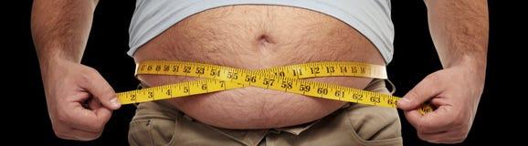 zwaarlijvigheid royalty-vrije stock foto