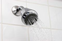 Zwakstroom showerhead Royalty-vrije Stock Afbeeldingen