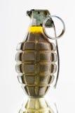 zwalcza granata zielonego ananasa Zdjęcie Royalty Free