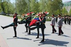 40 zwalczają się już dni chwały wieczne faszyzm kwiatów pamięci bohaterów honoru dużych nieatutowych przechodzącymi patriotycznym Fotografia Royalty Free