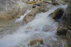 Zwalnia żaluzja wizerunek rzeka obraz stock