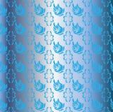Zwanen in de blauwe azuurblauwe hemel Royalty-vrije Stock Foto's