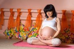 zwanger Stock Foto's