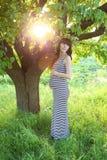 Zwanger meisje Royalty-vrije Stock Fotografie