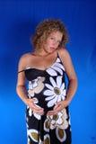 Zwangere dame 10 Royalty-vrije Stock Afbeeldingen