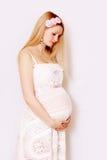 Zwangere vrouw Royalty-vrije Stock Afbeelding