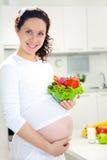 Zwangere vrouw Stock Fotografie