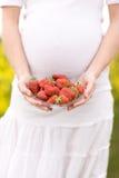 Zwangerschap stock afbeeldingen