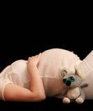 Zwangerschap Stock Afbeelding