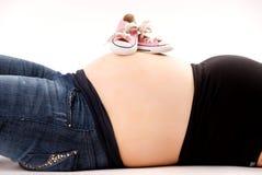 Zwangerschap Royalty-vrije Stock Foto