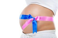 Zwangerschap stock foto's