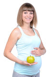 Zwangerschap Royalty-vrije Stock Fotografie