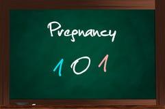 Zwangerschap 101 Stock Foto