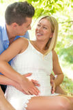 Zwangerschap royalty-vrije stock foto's