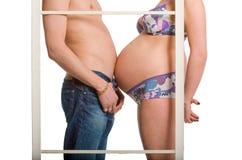 Zwangerschap Royalty-vrije Stock Afbeeldingen