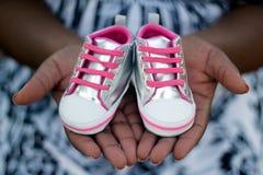 Zwangerschap Announcment Royalty-vrije Stock Afbeeldingen