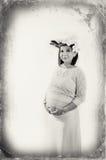 Zwangerschap en moederschap Stock Foto's