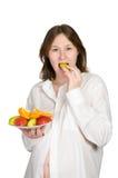 Zwangerschap en voeding Stock Afbeelding