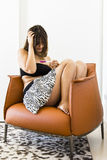 Zwangerschapstest Stock Fotografie