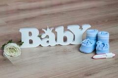 Zwangerschapstest Royalty-vrije Stock Afbeeldingen