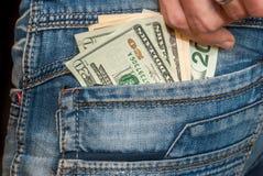 Zwanzig-Dollar-Haften Lizenzfreie Stockfotos