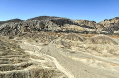 Zwanzig Maultier Team Canyon Road, Death Valley Lizenzfreies Stockfoto